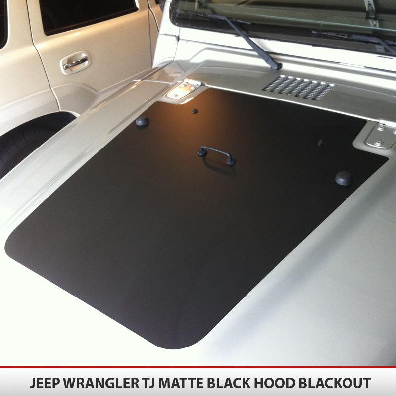 Gulf Coast Toyota >> Jeep Wrangler TJ 97-06 Blackout Hood