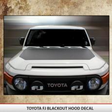 Toyota FJ Cruiser 07-15 Blackout
