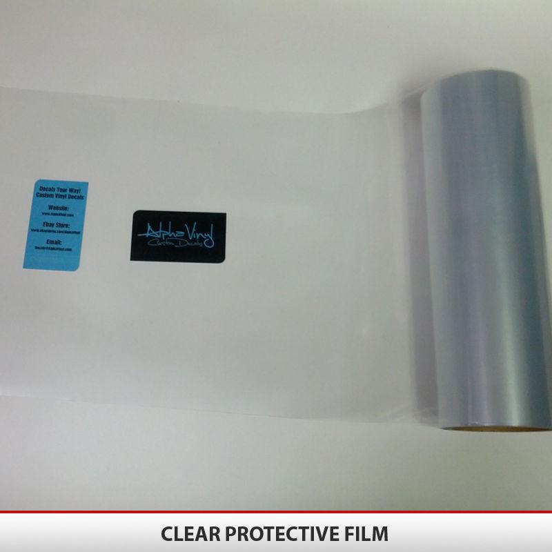 Headlight Taillight Fog Light Tint Film