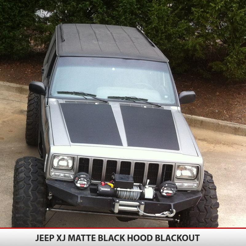 Jeep Cherokee Xj Blackout Hood
