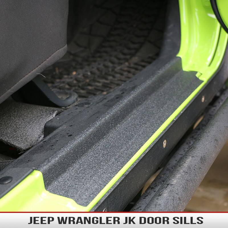 Wrangler Jk Inside Door Sills