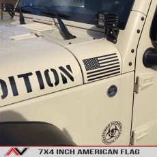 American Flag Decal Jeep Usa Freedom Edition Decal