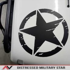 Distressed Freedom Star
