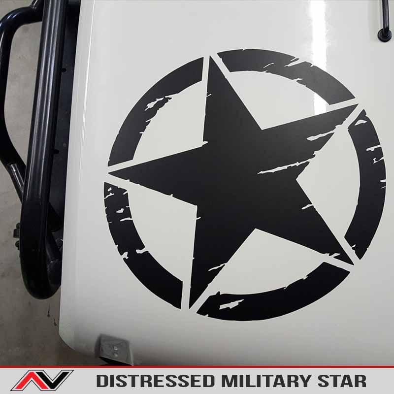 Distressed Freedom Star