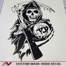 MAKE YOUR OWN Custom Hood Decal