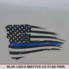 Blue Lives Matter Support Sticker