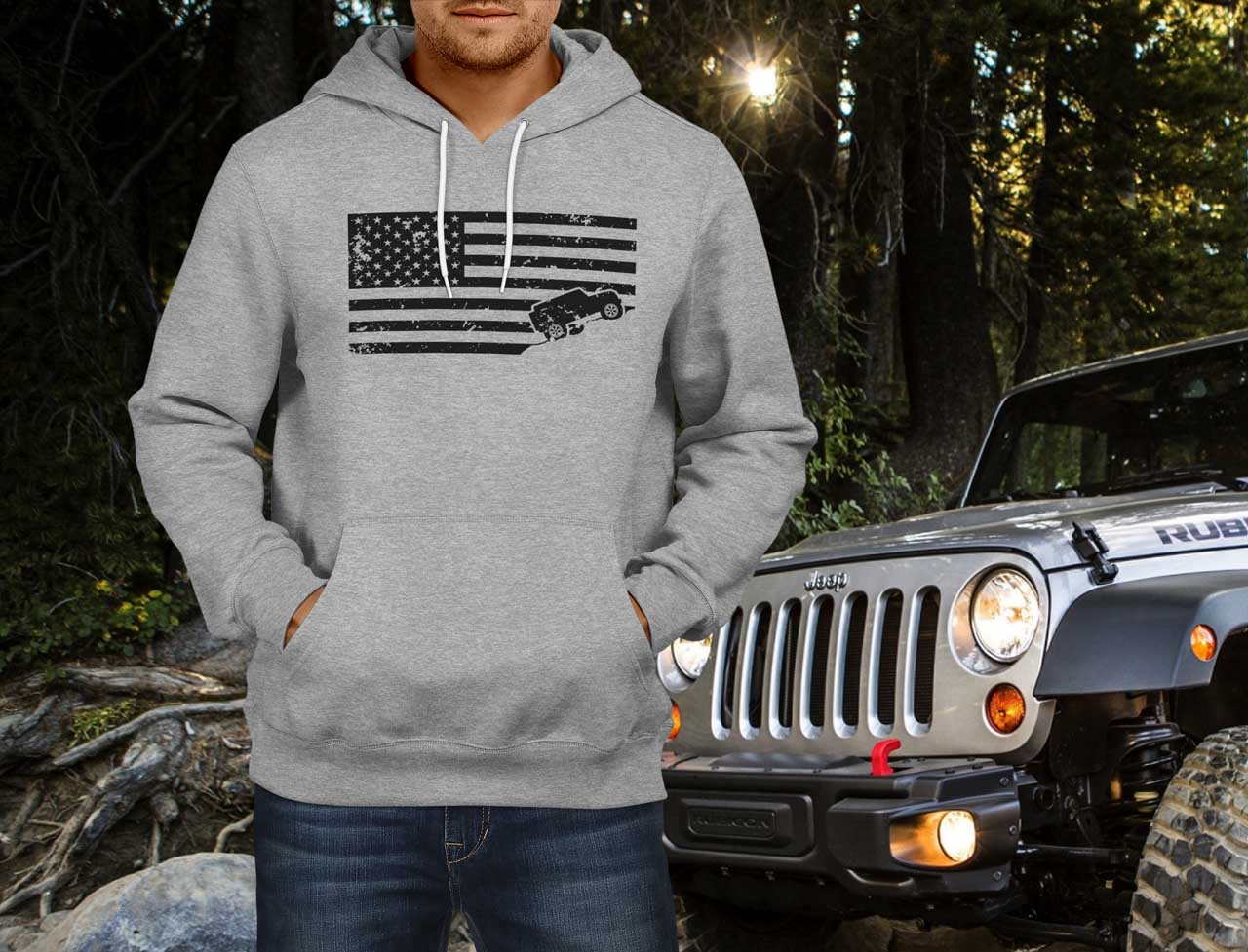 2004 Jeep Liberty For Sale >> American Jeeper Hoodie