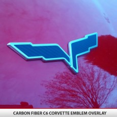 Corvette Flags Overlay C6 05-13