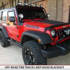 Jeep Wrangler Jk Hood Blackout Matte Black5