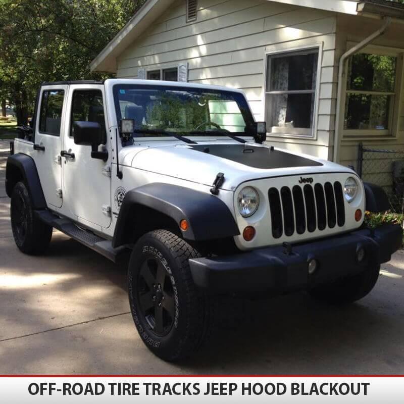 Jeep Wrangler Jk Blackout Hood Alphavinyl