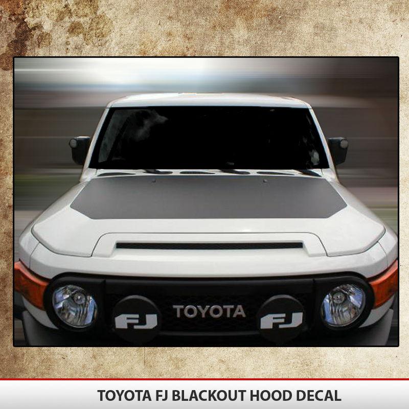 Gulf Coast Toyota >> Toyota FJ Cruiser 07-15 Blackout | AlphaVinyl