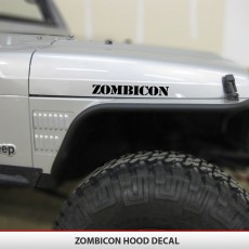 ZOMBICON Hood Decals