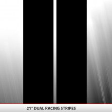 21″ Dual Racing Stripe 6 Foot