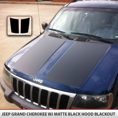 Jeep Grand Cherokee Blackout Hood