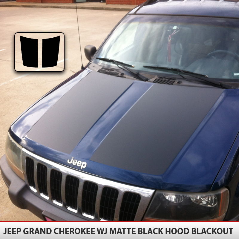 Jeep Grand Cherokee Blackout Hood Alphavinyl