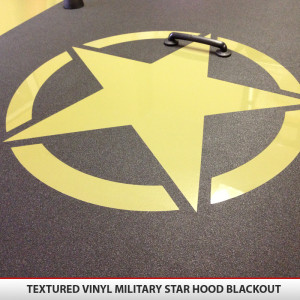 Jeep_wrangler_JK_military_star_Hood_blackout_textured_vinyl