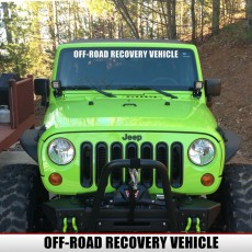 RECOVERY VEHICLE Banner