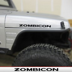 ZOMBICON -RUBICON Hood Decals