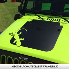 Gecko Jeep Wrangler JK Blackout