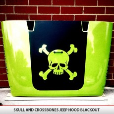 Skull And Crossbones Hood Blackout