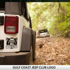 GulfCoastJeepClub Logo Decal