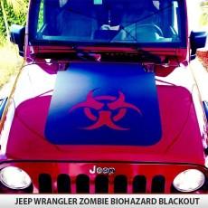 Zombie Bio-Hazard Hood Blackout