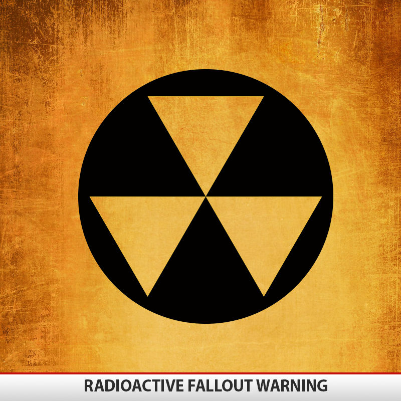 Radioactive Fallout on toyota fj radio