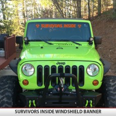 SURVIVORS INSIDE BANNER