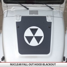 Nuclear Fallout Jeep Hood Blackout