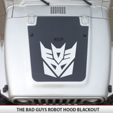 Decepticon Jeep Hood Blackout