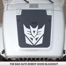 Decepticon Jeep Hood Blackout