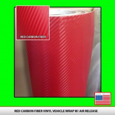 Red Carbon Fiber Vinyl