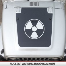 Radioactive Warning Jeep Blackout