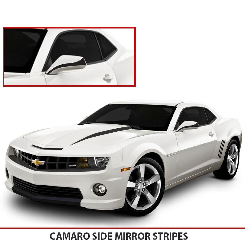 2014 Camaro Silvers: Camaro Side Mirrors Blackouts