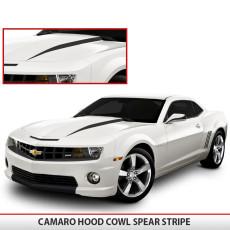 Camaro Hood Spear Stripes