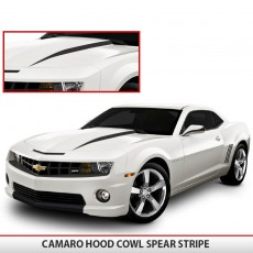 Camaro Hood Spear Stripes