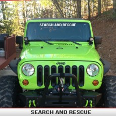 SEARCH AND RESCUE Banner