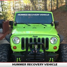 HUMMER RECOVERY VEHICLE