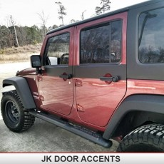 JK 2DR/4DR Door Skins Accents