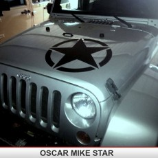 OSCAR MIKE Hood Star