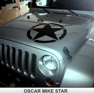 Oscar_Mike_Jeep_Wrangler_Military_hood_star_decal_wrangler_JK_TJ_YJ