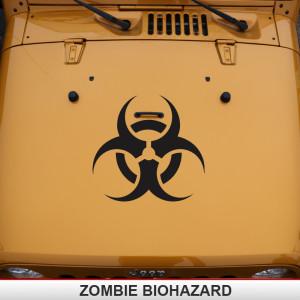Zombie_Jeep_biohazard_hood_decal_offroad_hazmat