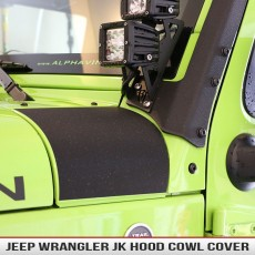 Jeep Wrangler JK Hood Cowl Cover Decal2