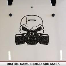 Biohazard Mask & Skull