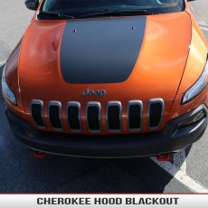 Jeep Cherokee KL Hood Blackout