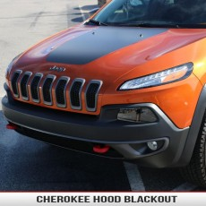 Jeep Cherokee KL Hood Blackout Decal Vinyl Sticker 2014 1