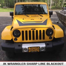 Sharp Line Hood Blackout