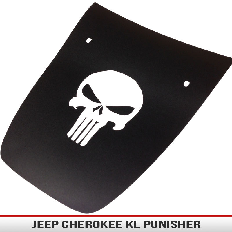 Jeep Cherokee KL Punisher | AlphaVinyl