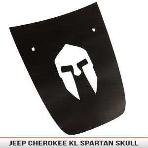 Jeep_cherokee_KL_2012_Spartan_trojan_skull_hood_blackout_decal