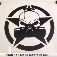 Biohazard Gas Mask Star